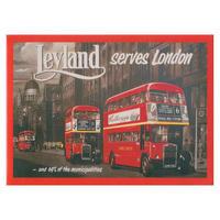 London Bus Fridge Magnet