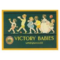Victory Babies Fridge Magnet