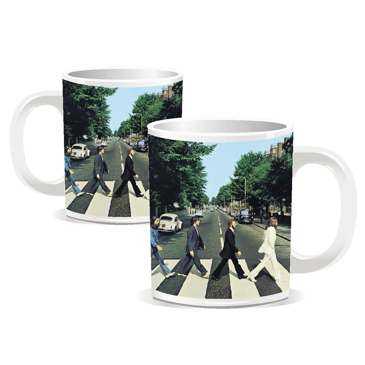 NEW BEATLES ABBEY ROAD BOXED MINI ESPRESSO MUG LENNON RINGO COFFEE CUP OFFICIAL