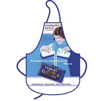 Cadbury's Milk Chocolate Advert Cotton Apron