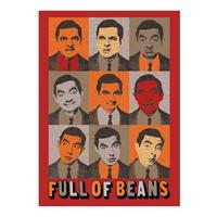 View Item Mr Bean (Full of Beans) Fridge Magnet