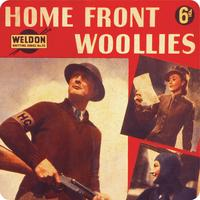 Home front woollies Single Coaster