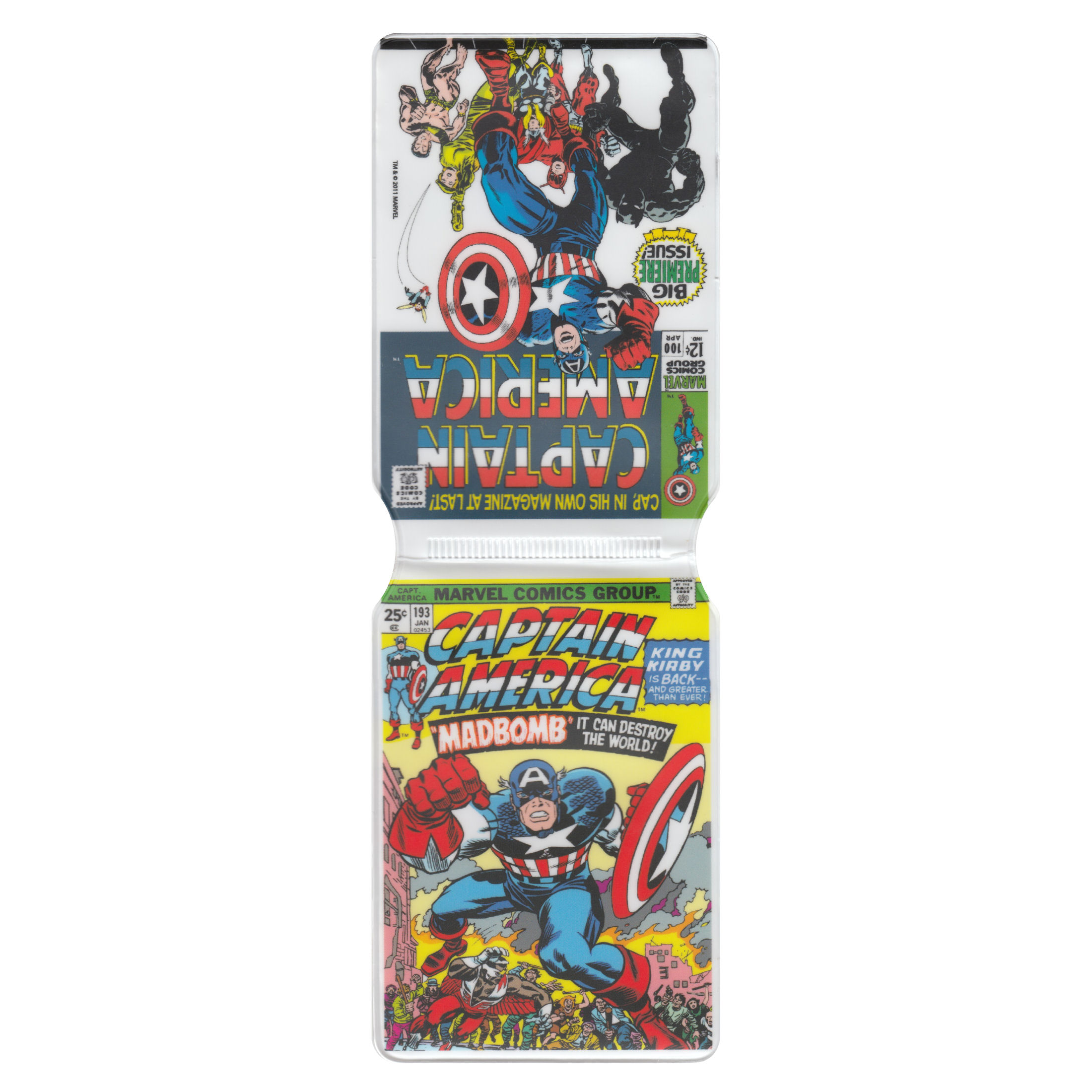 Captain America Classic Covers Travel/Oyster Card Holder