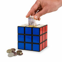View Item Rubik's Cube Money Box