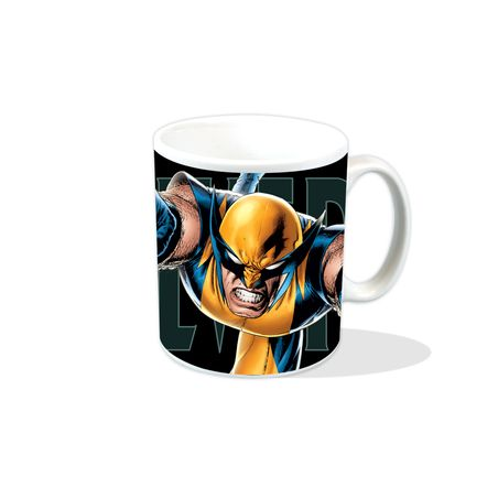 NEW WOLVERINE LEAPING BOXED MUG MARVEL COMICS XMEN OFFICIAL CUP CERAMIC GIFT TEA