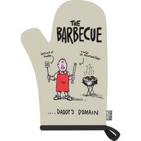 "The Barbecue ""Daddy's Domain"" Single Oven Glove"