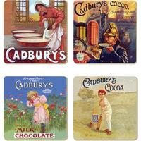 View Item Vintage Cadbury's Adverts Coaster Set (4 Coasters)