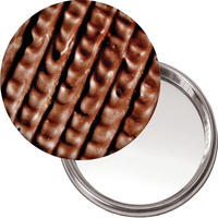Chocolate Digestive Handbag/Button Mirror