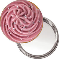 Cupcake Handbag/Button Mirror