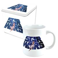 View Item Star Wars Logo Mug In A Tin Gift Set