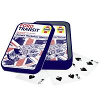Haynes Manual Ford Transit Van Playing Cards In A Tin