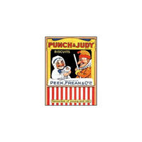 """Punch & Judy Biscuits Postcard """"Peek Frean & Co. Favourites Of Young And Old"""""""