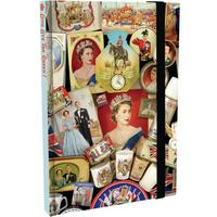 Queen Elizabeth II Coronation A6 Notebook