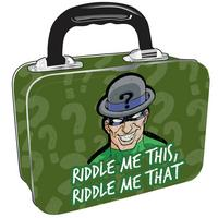 View Item The Riddler Tin Tote/Lunch Box
