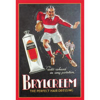 Brylcreem Rugger Postcard