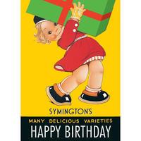 Birthday Parcel Postcard