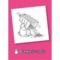 Bunny Suicides Death By Grater Fridge Magnet