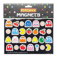 Pac Man Set Of 28 Die Cut Magnets