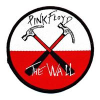 View Item Pink Floyd The Wall Hammers Logo Embroidered Sew-On Patch