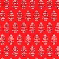 Keep Calm And Carry On Gift Wrap x 3 Sheets