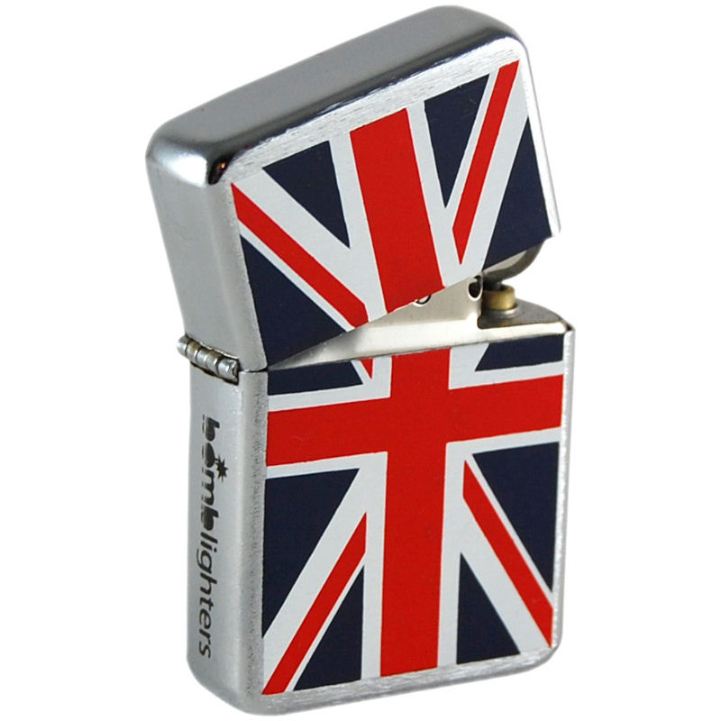 Bomb Lighter Inspired By The Union Jack
