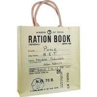 Ration Book Reusable Shopper Bag