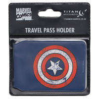 Captain America Shield Travel/Oyster Card Holder Thumbnail 2