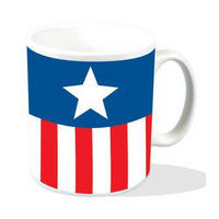 Captain America Stars & Stripes Uniform Mug