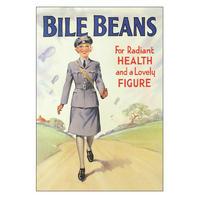 Bile Beans Women's Auxiliary Air Force Postcard