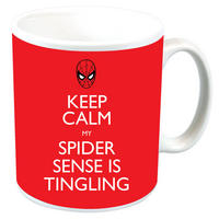 "Spiderman ""Keep Calm My Spider Sense Is Tingling"" Mug"