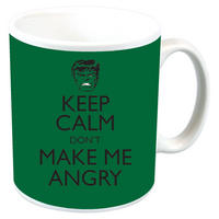 "The Incredible Hulk ""Keep Calm And Don't Make Me Angry"" Mug"