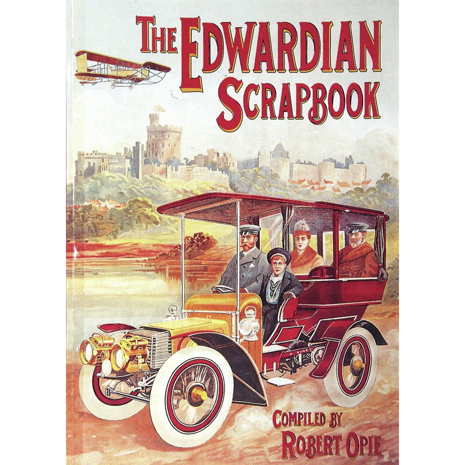 How to scrapbook uk - New Edwardian Hardback Book Scrapbook Vintage Adverts Retro Opie British Food Uk
