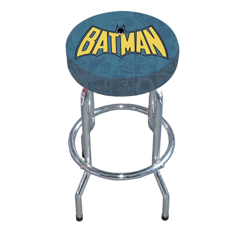 New Batman Logo Bar Stool Kitchen Retro Breakfast Dc Comic