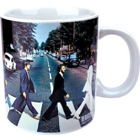 NEW GIANT BEATLES ABBEY ROAD MUG TEA COFFEE CUP NOVELTY POP LENNON UK LP GIFT