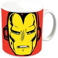 Iron Man Face Ceramic Mug