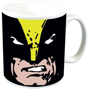 NEW WOLVERINE FACE BOXED MUG MARVEL COMICS CUP XMEN RETRO LOGAN CERAMIC CUP GIFT