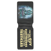 """Kick Ass """"I'm The Guy With The Electrodes Attached To His Testicles"""" Travel/Oyster Card Holder"""
