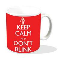 "Doctor Who ""Keep Calm And Don't Blink"" Mug"