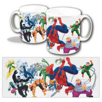 Spiderman & Villains Mug