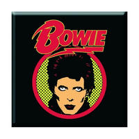 David Bowie Flash Logo Fridge Magnet