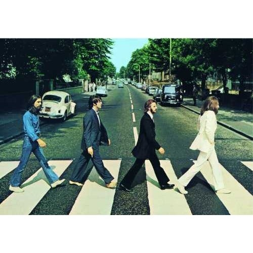 The Beatles Abbey Road Photo Postcard