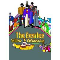 The Beatles Yellow Submarine Album Cover Postcard