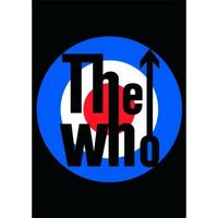 The Who Target Postcard