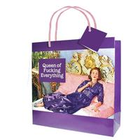 Queen Of Fucking Everything Large Gift Bag