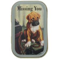 John Bull Missing You Keepsake/Pill Tin