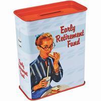 Early Retirement Fund Money Box