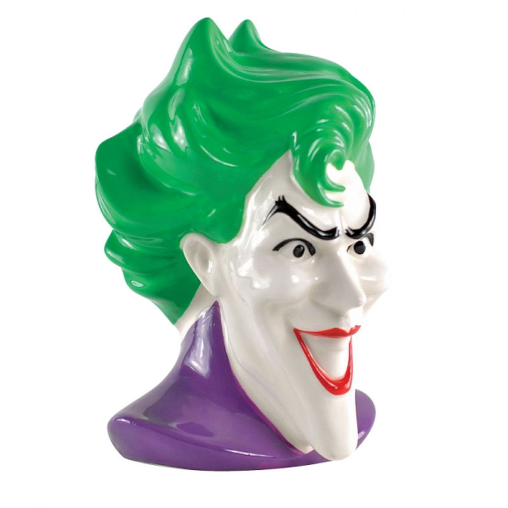 Single The Joker Ceramic Bookend