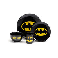 Batman Logo 4 Piece Dinner Set