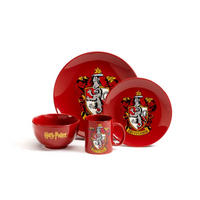 Harry Potter Gryffindor 4 Piece Dinner Set Thumbnail 1