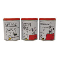 Peanuts Set Of 3 Canisters